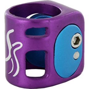 Fasen 2 Wedge collar Clamp - Purple/Blue