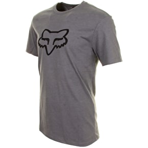 Fox Legacy Foxhead T-Shirt - Heather Grey