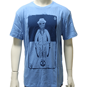 Volcom Kids Flipped Out Lightweight T-Shirt - Marina Blue