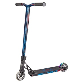 Grit 2018 Elite Complete Scooter - Satin Black/Blue Metallic
