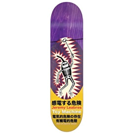Toy Machine Leabres Shock Skateboard Deck - 8.125