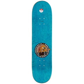 Toy Machine Skateboard Deck - Scraps Leabres 8