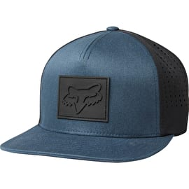 Fox Redplate Snapback Cap - Navy