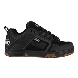 DVS Comanche Skate Shoes - Black/White Gum Nubuck