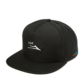 Lakai The Flare Snapback Cap - Black