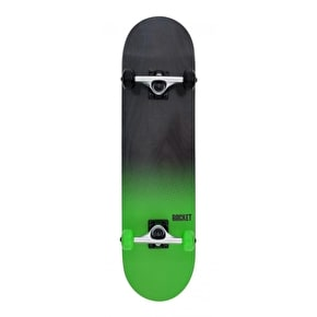 Rocket Fade Series Complete Skateboard - Black/Green 7.75