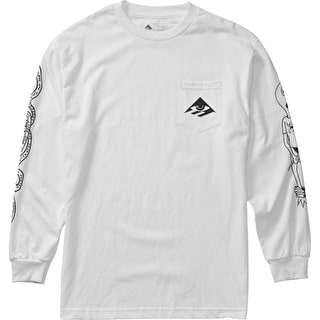 Emerica Toy Longsleeve T-Shirt - White