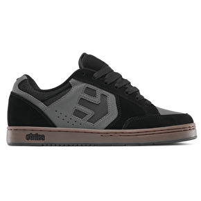 Etnies Swivel Skate Shoes - Black/Grey/Gum
