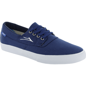 Lakai Camby Skate Shoes - Navy Canvas