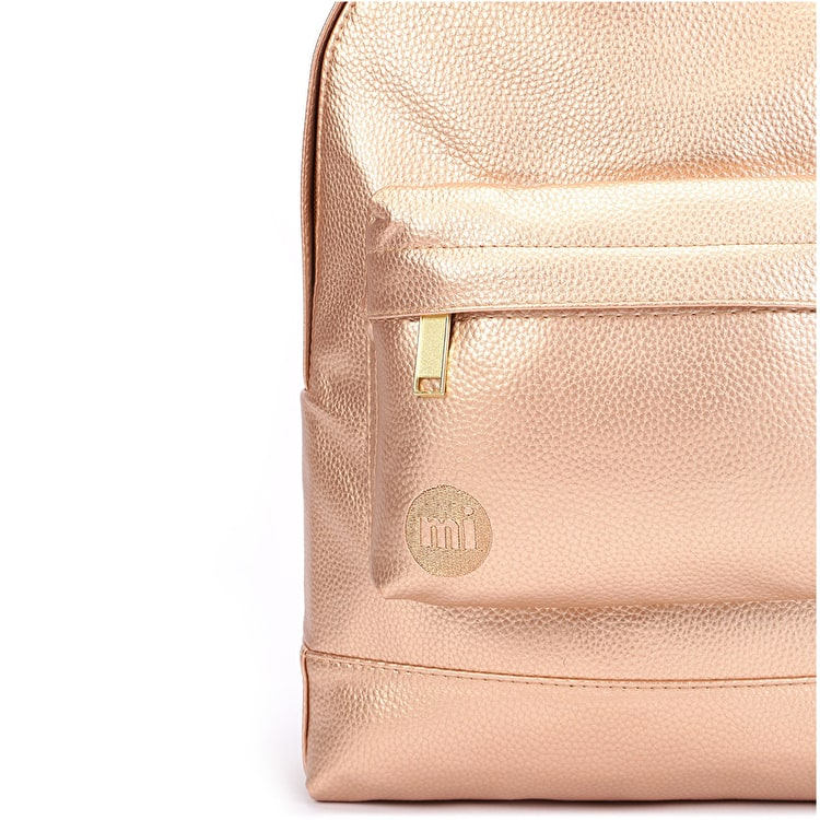 Mi-Pac Mini Tumbled Backpack - Metallic Blush