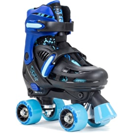 SFR Storm III Adjustable Roller Skates - Black/Blue