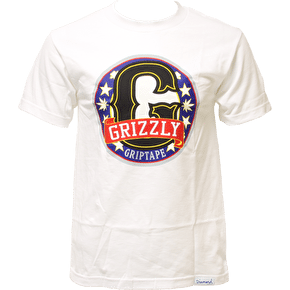Grizzly Tournament T-Shirt - White