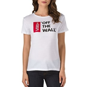 Vans Anthem Womens T-Shirt - White