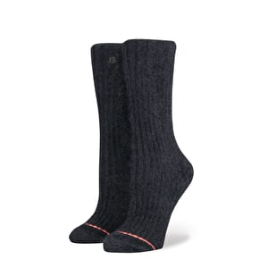 Stance Mega Cosy Womens Socks - Black