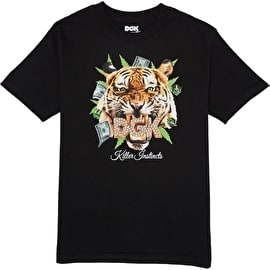 DGK Killer Instinct T shirt - Black
