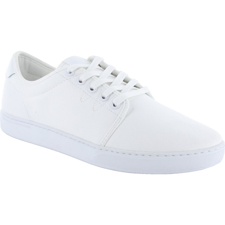 WeSC Lifestyle Edmond Shoes - White Canvas