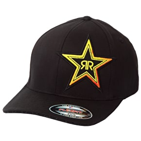 Fox Rockstar Fade Flexfit Hat Black