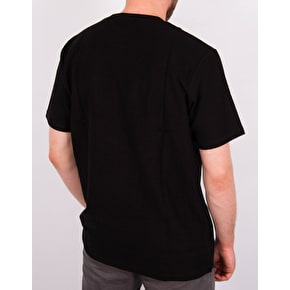 Rebel8 Lakeview Embroidered Pocket T-Shirt - Black