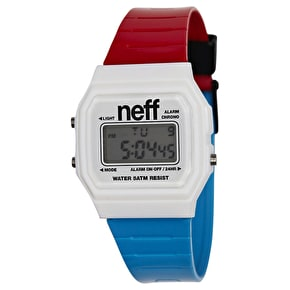 Neff Flava Watch - Red/White/Blue