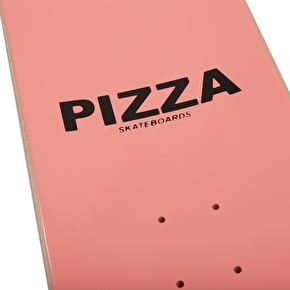 Pizza Skateboards Stained Glass Skateboard Deck - Pink - 8.5