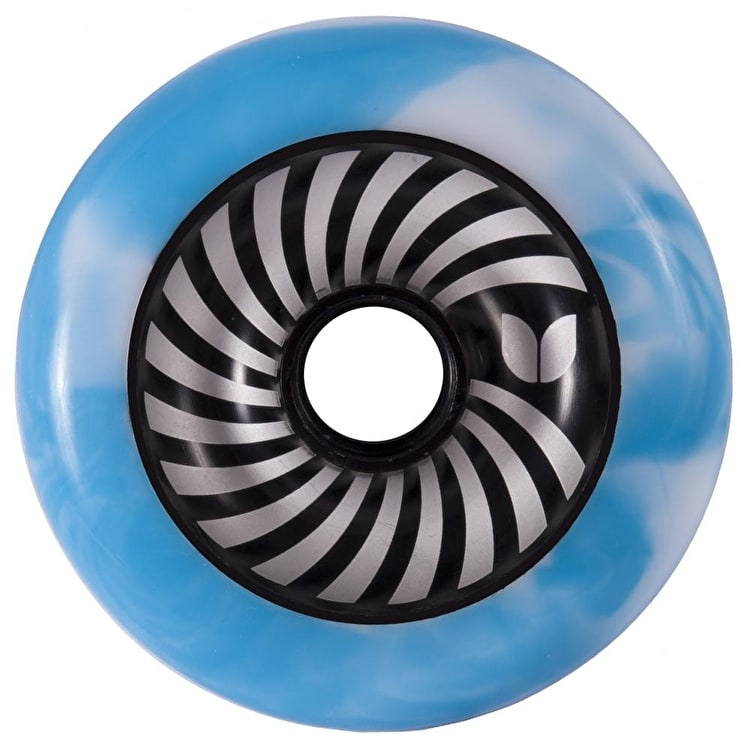 Blazer Pro Vertigo Swirl Wheel - Blue / White 100mm