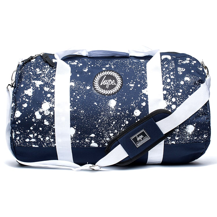 Hype Splat Holdall - Navy/White