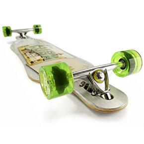 Havana Gemini Drop-Through Postcard Complete Longboard 40