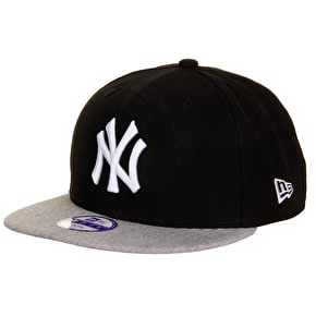 New Era MLB Kids Snapback Cap NY Yankees - Pop Heather
