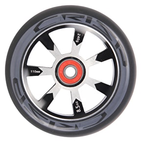 Crisp Hollowtech 110mm Scooter Wheel - Black/Black