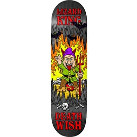 Deathwish Happy Place -Lizard King Skateboard Deck 7.875