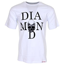 Diamond Skull T-Shirt - White