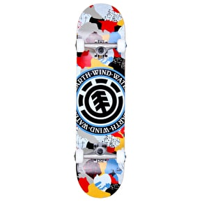 Element Cut Out Seal Complete Skateboard - 7.75