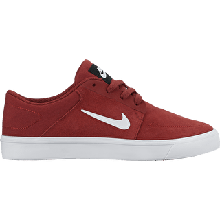 Nike SB Portmore Shoes - Dark Cayenne/White