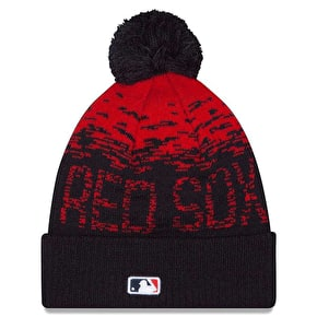 New Era MLB Sport Knit Beanie - Boston Red Sox