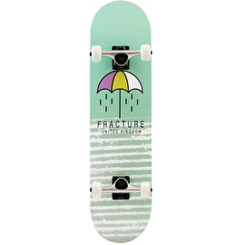 Fracture Brolly Complete Skateboard - Green 7.75