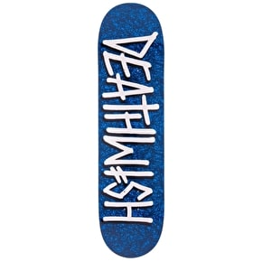 Deathwish Deathspray Sketchy Skateboard Deck - Blue 8