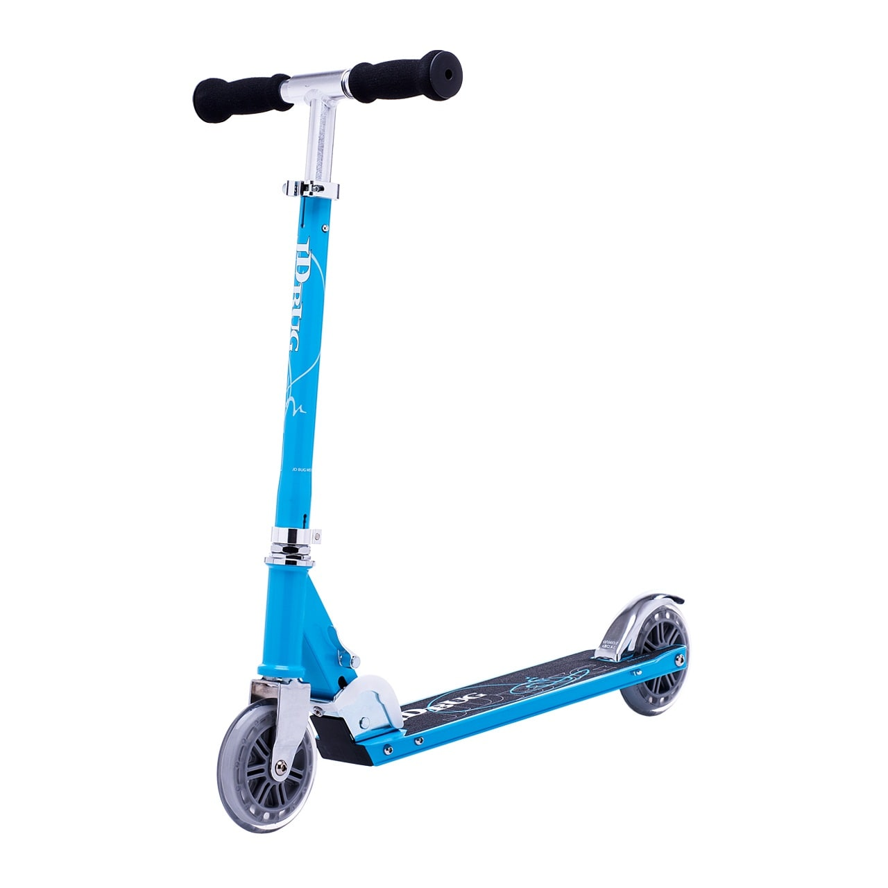 JD Bug Classic Street 120 Folding Scooter  Sky Blue