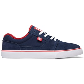 DC Tonik Skate Shoes - Navy/Red