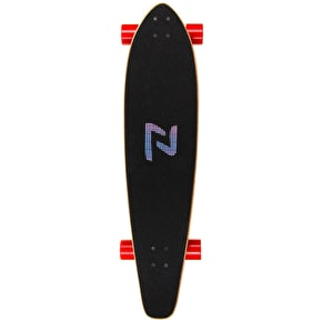 Z-Flex Roundtail Complete Longboard - Red 39.5