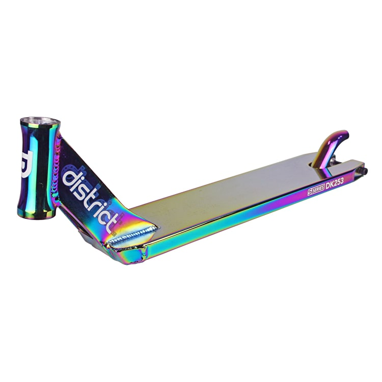 B-Stock District S-Series DK253 Scooter Deck - Neochrome 530mm (Cosmetic Damage)