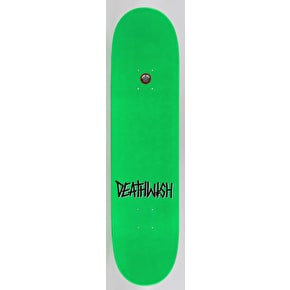 Deathwish Deathspray Skateboard Deck - Neon Green 7.75