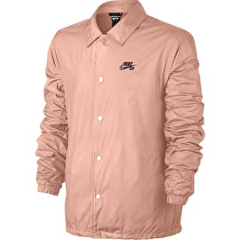 Nike SB Shield Coaches Jacket - Storm Pink/Obsidian