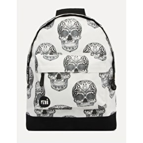 Mi-Pac Skulls Backpack - Natural