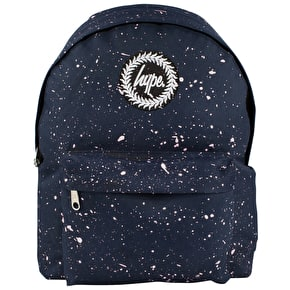 Hype Speckle Backpack - Navy/White