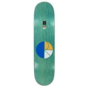 Polar No Complies Forever Skateboard Deck - Team 8