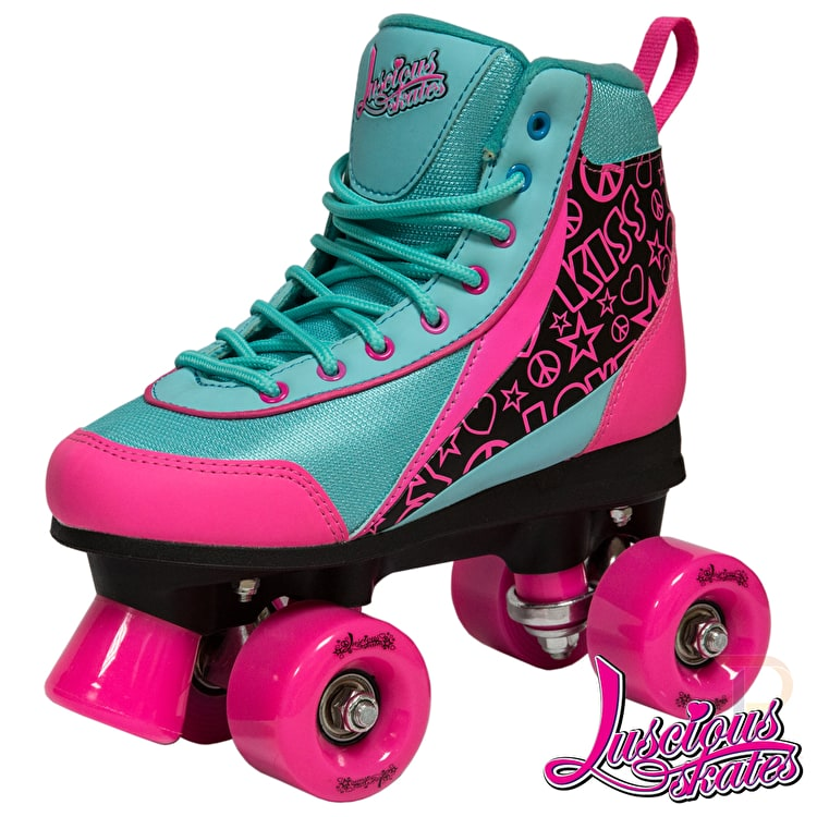 Luscious Retro Quad Roller Skates - Summer Days