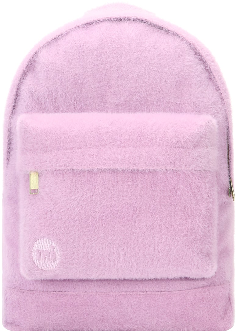MiPac Fur Backpack  Mauve