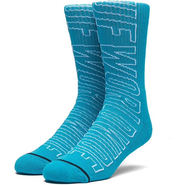 Huf Grand Prix Socks - Tropical Green
