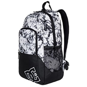DC Detention II Backpack - Lily White Storm