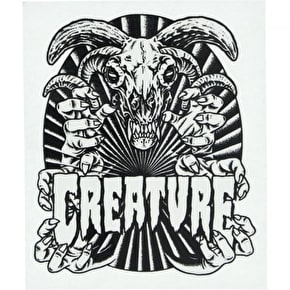 Creature Ceremony Skateboard Sticker - 4